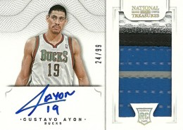 2012-13 National Treasures Basketball Rookie Patch Autographs Guide 31
