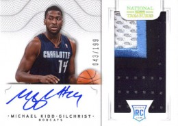 2012-13 National Treasures Basketball Rookie Patch Autographs Guide 35