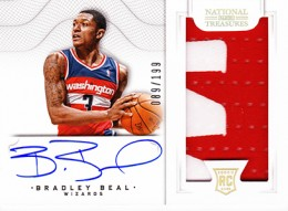 2012-13 National Treasures Basketball Rookie Patch Autographs Guide 36