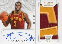 2012-13 National Treasures Basketball Rookie Patch Autographs Guide 37