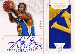 2012-13 National Treasures Basketball Rookie Patch Autographs Guide 39