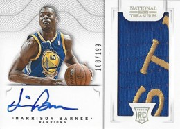 2012-13 National Treasures Basketball Rookie Patch Autographs Guide 40