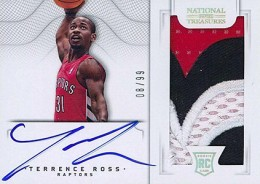 2012-13 National Treasures Basketball Rookie Patch Autographs Guide 41