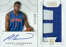 2012-13 National Treasures Basketball Rookie Patch Autographs Guide 42