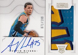 2012-13 National Treasures Basketball Rookie Patch Autographs Guide 43