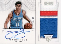 2012-13 National Treasures Basketball Rookie Patch Autographs Guide 45