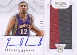 2012-13 National Treasures Basketball Rookie Patch Autographs Guide 46