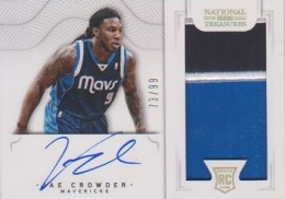 2012-13 National Treasures Basketball Rookie Patch Autographs Guide 49