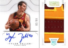 2012-13 National Treasures Basketball Rookie Patch Autographs Guide 50