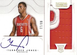 2012-13 National Treasures Basketball Rookie Patch Autographs Guide 51