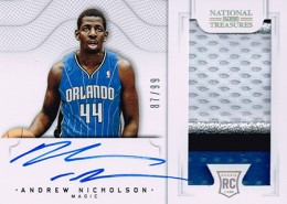 2012-13 National Treasures Basketball Rookie Patch Autographs Guide 52
