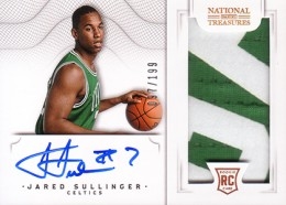 2012-13 National Treasures Basketball Rookie Patch Autographs Guide 54