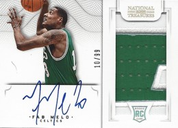 2012-13 National Treasures Basketball Rookie Patch Autographs Guide 55