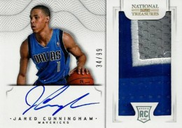2012-13 National Treasures Basketball Rookie Patch Autographs Guide 57