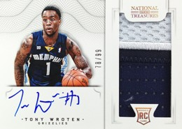 2012-13 National Treasures Basketball Rookie Patch Autographs Guide 58