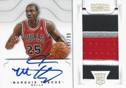 2012-13 National Treasures Basketball Rookie Patch Autographs Guide 62