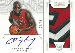 2012-13 National Treasures Basketball Rookie Patch Autographs Guide 65