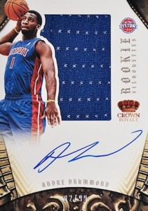 2012-13 Preferred Sihouettes Andre Drummond RC