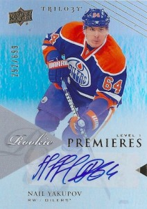 Nail Yakupov Rookie Card Guide 8