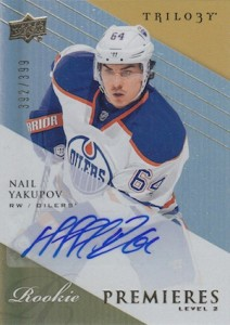 Nail Yakupov Rookie Card Guide 9