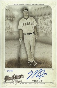 2013 Topps Allen & Ginter Baseball Cards 50