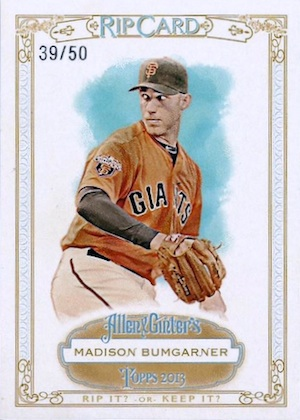2013 Topps Allen & Ginter Baseball Cards 41