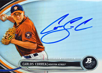 new arrival 1166e 19264 Key Carlos Correa Prospect Cards