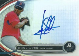 2013 Bowman Platinum Baseball Prospect Autographs Guide 28