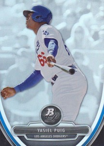Top Yasiel Puig Baseball Cards Available Right Now 11