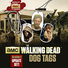 2013 Bulls i Toy Walking Dead Season 2 Update Dog Tags