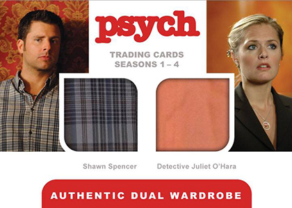 2013 Cryptozoic Psych Seasons 1-4 Trading Cards 27