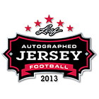 2013 Leaf Autographed Jersey Football