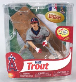2013 Mike Trout Debut MLB Exclusive