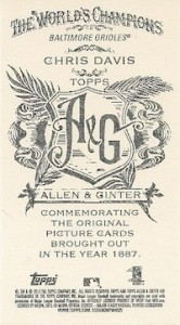 2013 Topps Allen & Ginter Baseball Cards 5