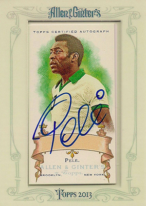 Goooooaaal! Top Pelé Cards to Collect 9