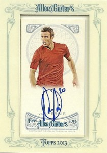 2013 Topps Allen and Ginter Autographs Robin van Persie