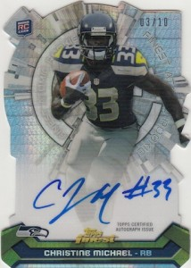 2013 Topps Finest Football Cards 9