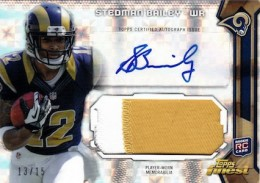 2013 Topps Finest Football Cards 10