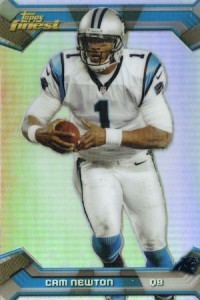 2013 Topps Finest Football Cards 4