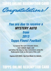 2013 Topps Finest Football Cards 18