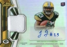 2013 Topps Finest Football Cards 15
