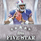 2013 Topps Five Star Football Cards