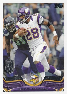 2013 Topps Football Variation Short Prints Guide 1