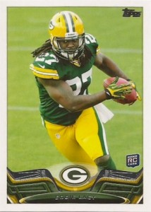 Eddie Lacy Rookie Card Checklist and Visual Guide 54
