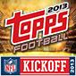 2013 Topps NFL Kickoff Hobby Shop Promo Begins