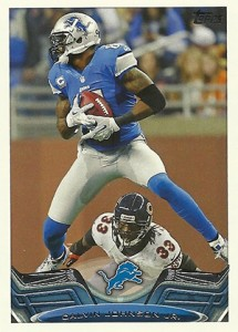 2013 Topps Football Variation Short Prints Guide 64