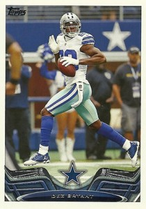 2013 Topps Football Variation Short Prints Guide 84