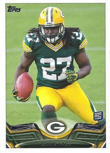 Eddie Lacy Rookie Card Checklist and Visual Guide 44