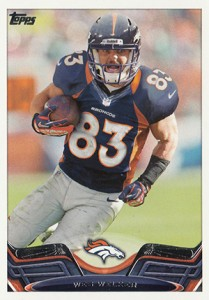 2013 Topps Football Variation Short Prints Guide 80