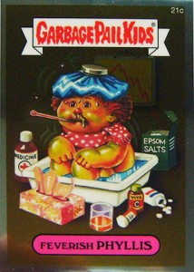 See the 2013 Topps Garbage Pail Kids Chrome C Variations  8